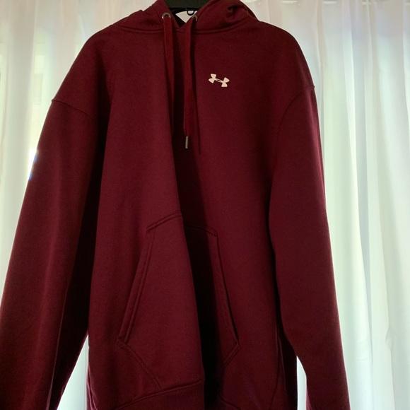 1869a81f4b Maroon underarmour sweatshirt
